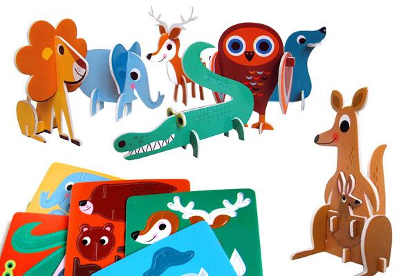 MAR MAR CO // set of 12 animals