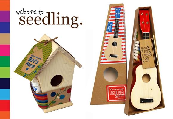 SEEDLING // your own birds house & crazy ukulele guitar