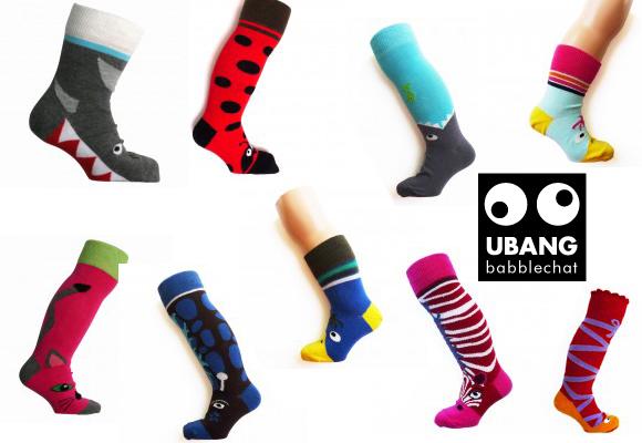 UBANG // animal socks for children