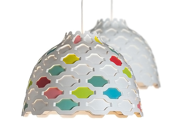 LOUISE CAMPBELL for LOUIS POULSEN // lc shutters children hanging lamp