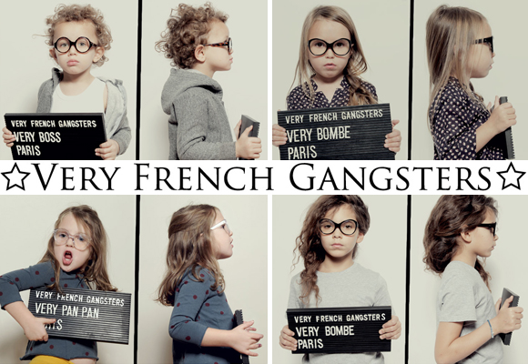 VERY FRENCH GANGSTERS // eyewear brand for kids