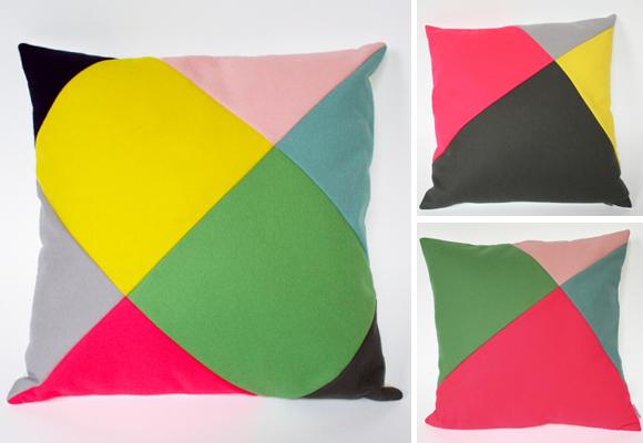 wonderful felt cushion for kids