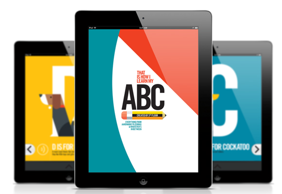 abc iPad app for kids
