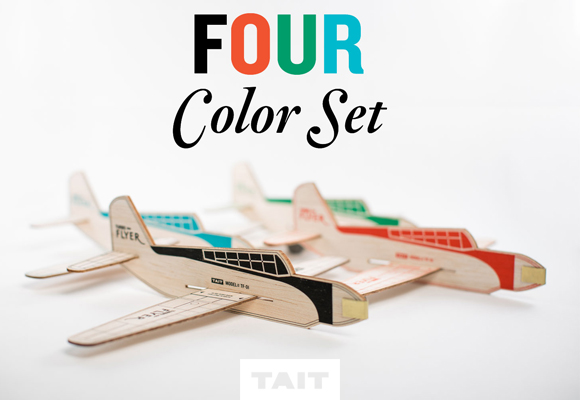 turbo flyer :: wooden planes by tait design
