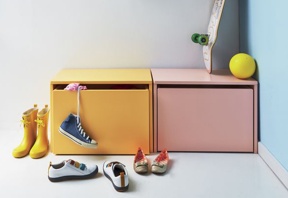 toy box or shoes storage for kids by Flexa