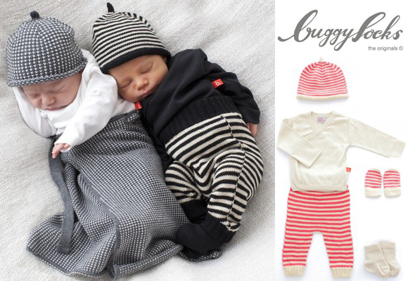 New range of new born baby clothes by Buggysocks