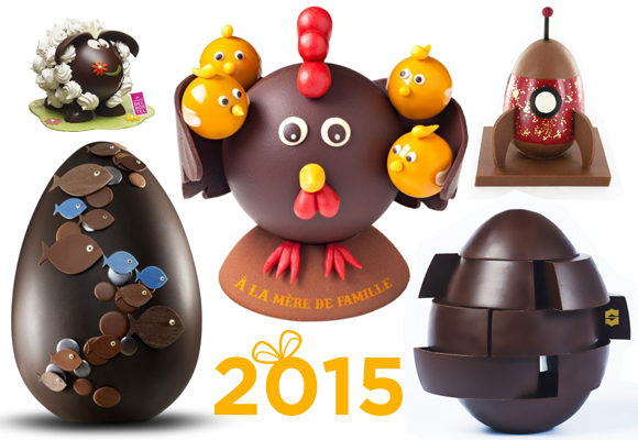 Best chocolate Easter Eggs 2015 by French Pastry chefs