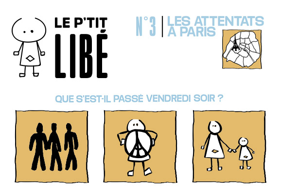 LE P'TIT LIBÉ N°3 - Paris Attacks, November 13th 2015