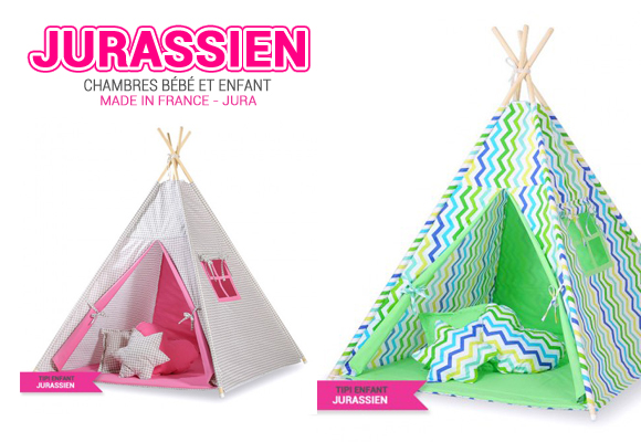 Collection de Tipi Enfants par Le Jurassien