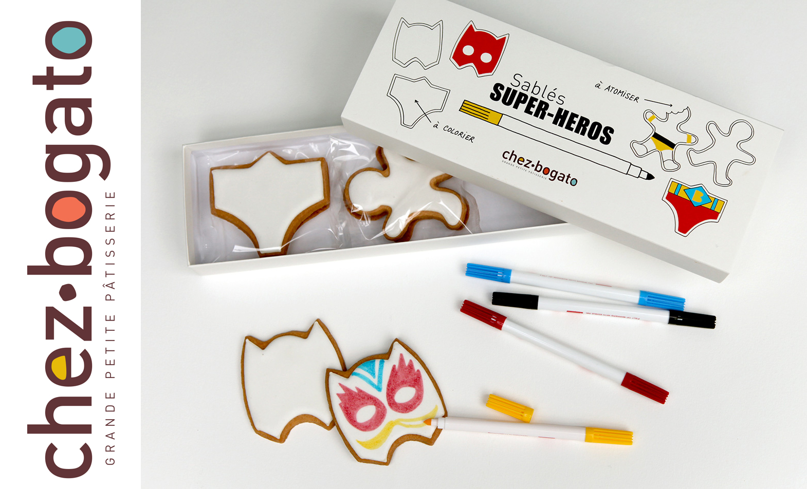 superheros cookies by Bogato
