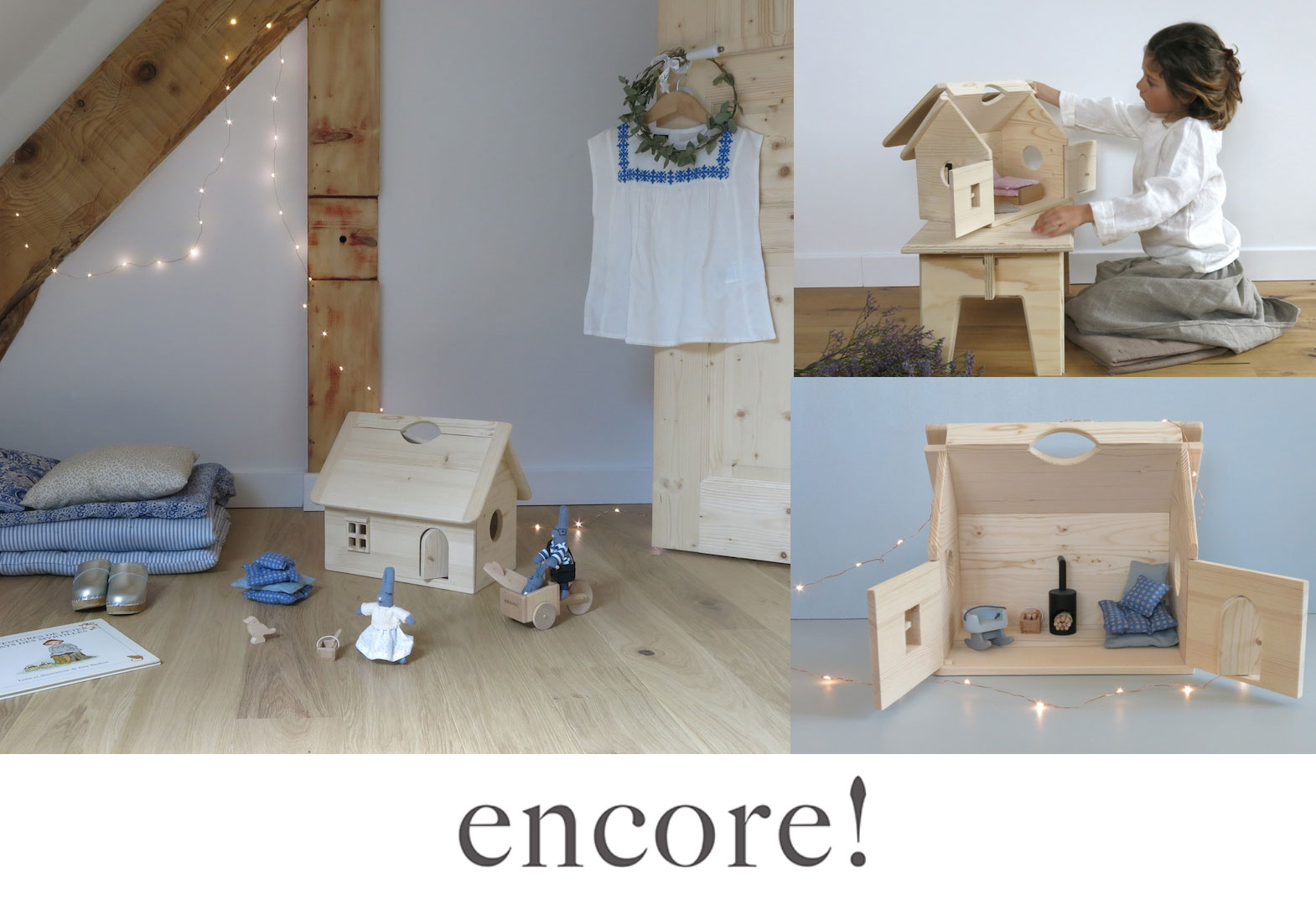 The Cottage in the woods - Jouets Encore