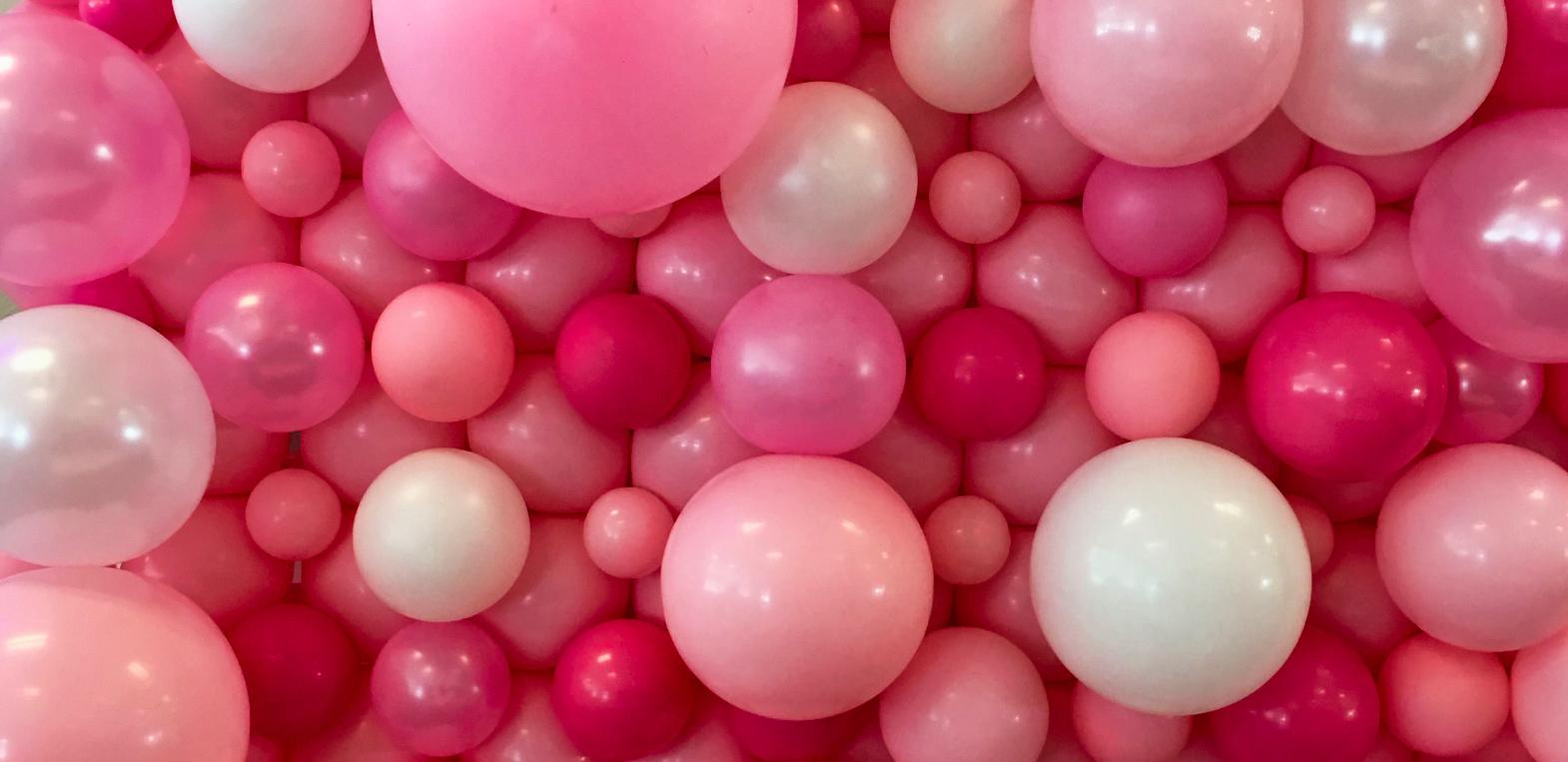 Ballon Rose Déco Chambre Fille