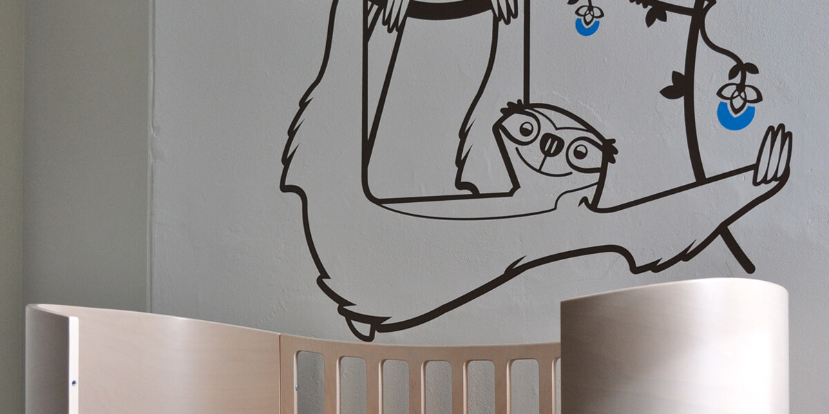e-glue wall decals for baby nursery